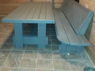 Мебель для сауны в частном доме