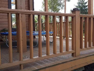 Ограждение для террасы и балконов