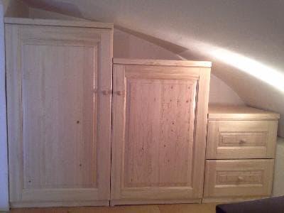 шкаф из массива сосны СПБ