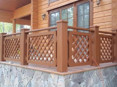 Комплект ограждений для террасы и балкона
