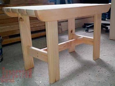 Набор деревянных изделий для бани или сауны