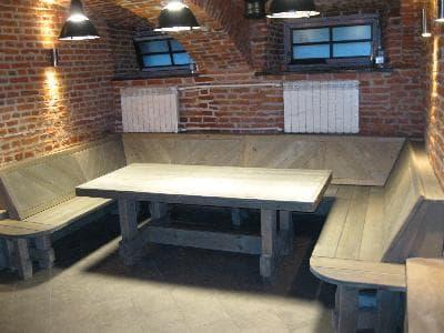 """Комплект мебели """"ЧТ"""" для бани или сауны"""