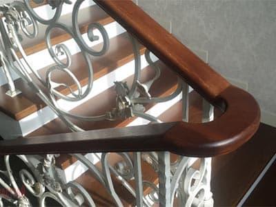 Перила для кованной лестницы