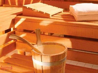 Деревянная мебель для сауны из осины