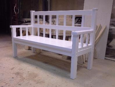 деревянная скамейка для беседки