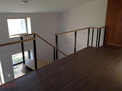 Ограждение для внутренней лестницы