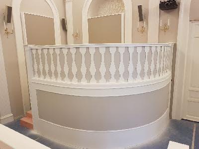 Подиумы театрального зала Гатчинского дворца