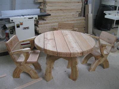 """Комплект мебели """"+4"""" для комнаты отдыха бани или сауны"""