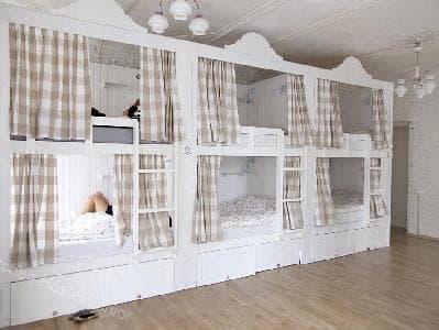 Двухъярусная кровать для хостелов